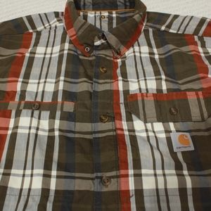 Carhartt Shirts - Carhartt Force Ridgefield Men's 3XL Reg. Plaid Sho